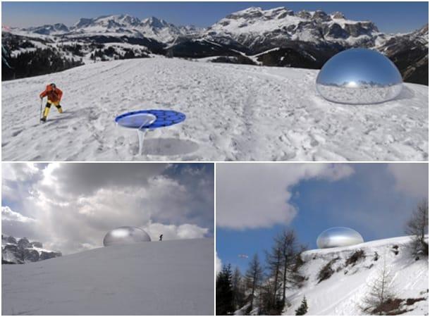 exterior espejo de Alpine Capsule