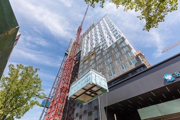 B2: torre prefabricada en Brooklyn