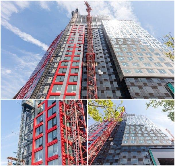 461 Dean Street torre de apartamentos tecnologia modular prefabricada