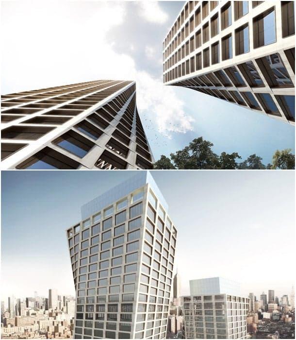 torres retorcidas BIG Manhattan