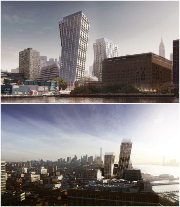 torres retorcidas BIG Nueva York