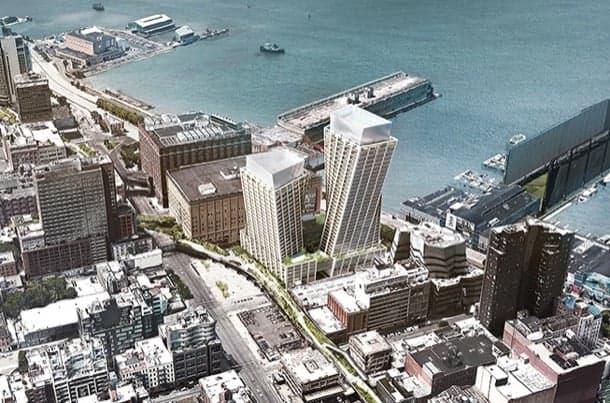 The Eleventh: torres retorcidas de BIG para Nueva York