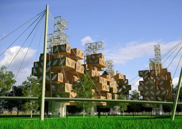 T-Tree: comunidad residencial sostenible
