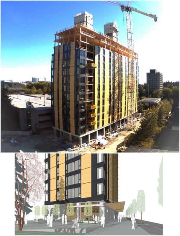Brock Commons residencia estudianes Vancouver