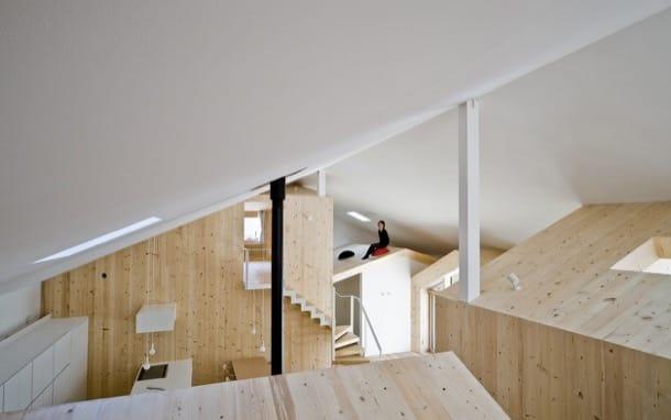 Casas dentro de una casa