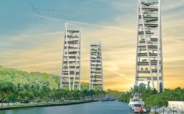 Viviendas unifamiliares en torres