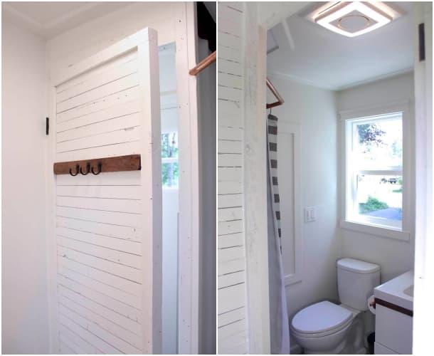 cuarto baño casa remolque Artisan Retreat