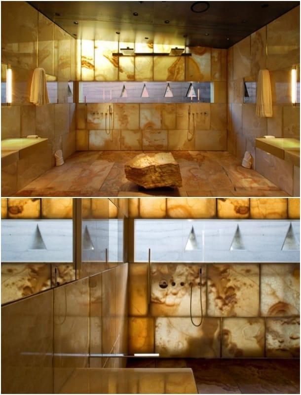 cuarto baño suite Desert Courtyard House