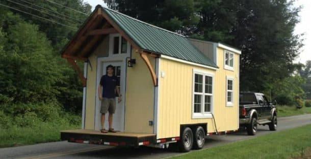Casita construida por Brevard Tiny House