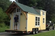 exterior casa diminuta Brevard Tiny House