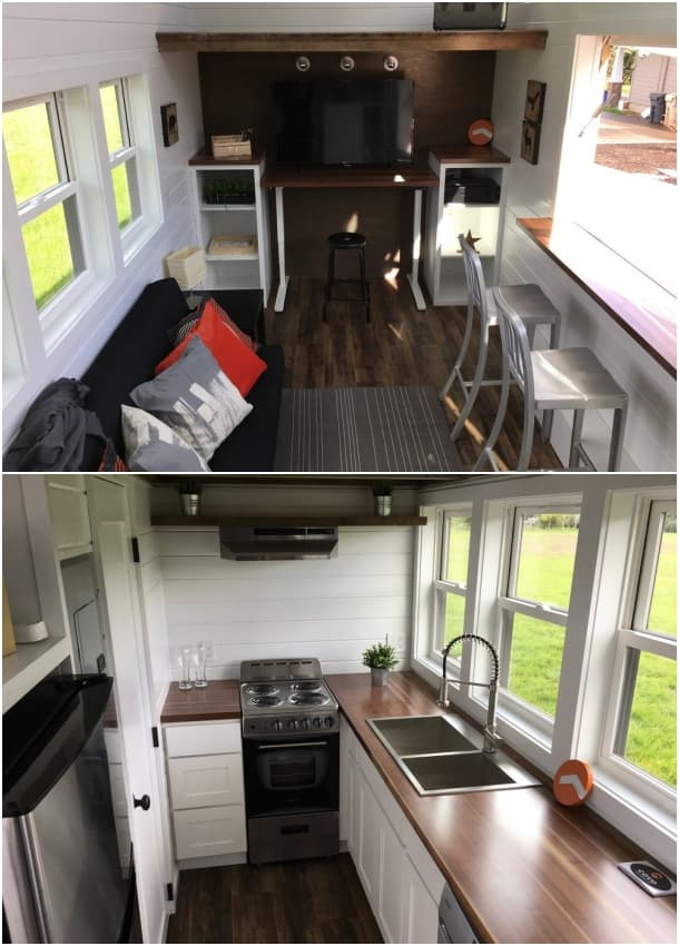 interior MIO vivienda movil Covo Tiny House