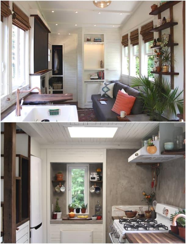 interior casa remolque Artisan Retreat