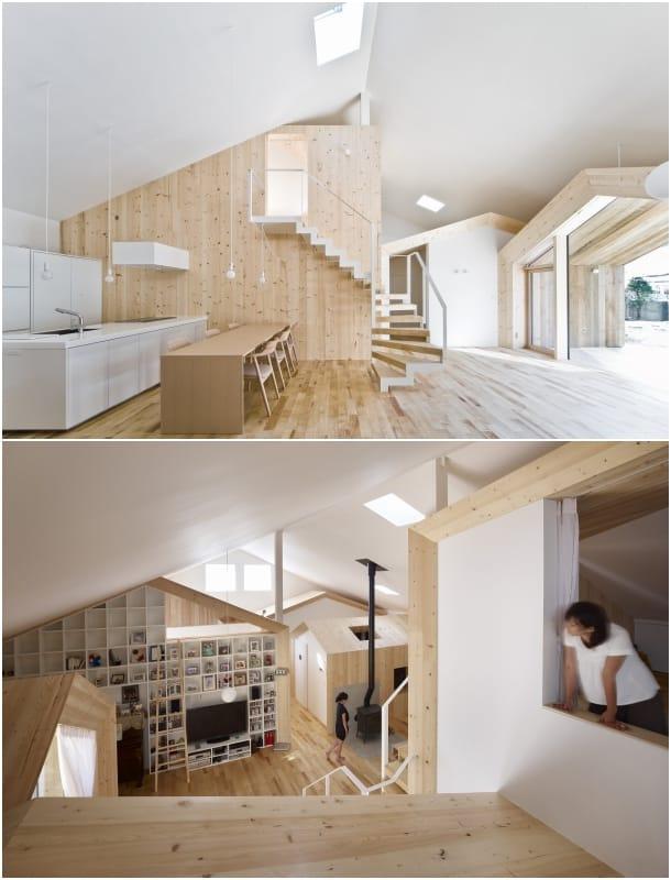 interior de la Casa K