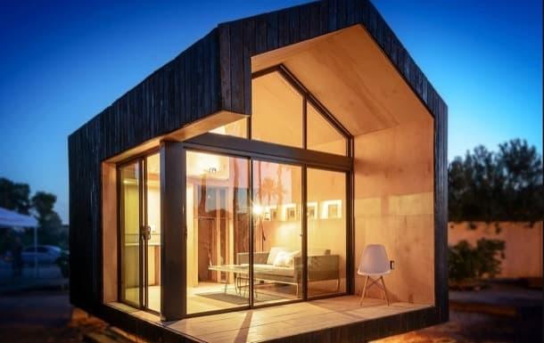 Refugio prefabricado de madera