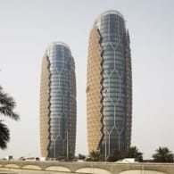 torres AlBahar con celosías inteligentes