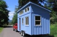 Alsek casa movil sobre remolque