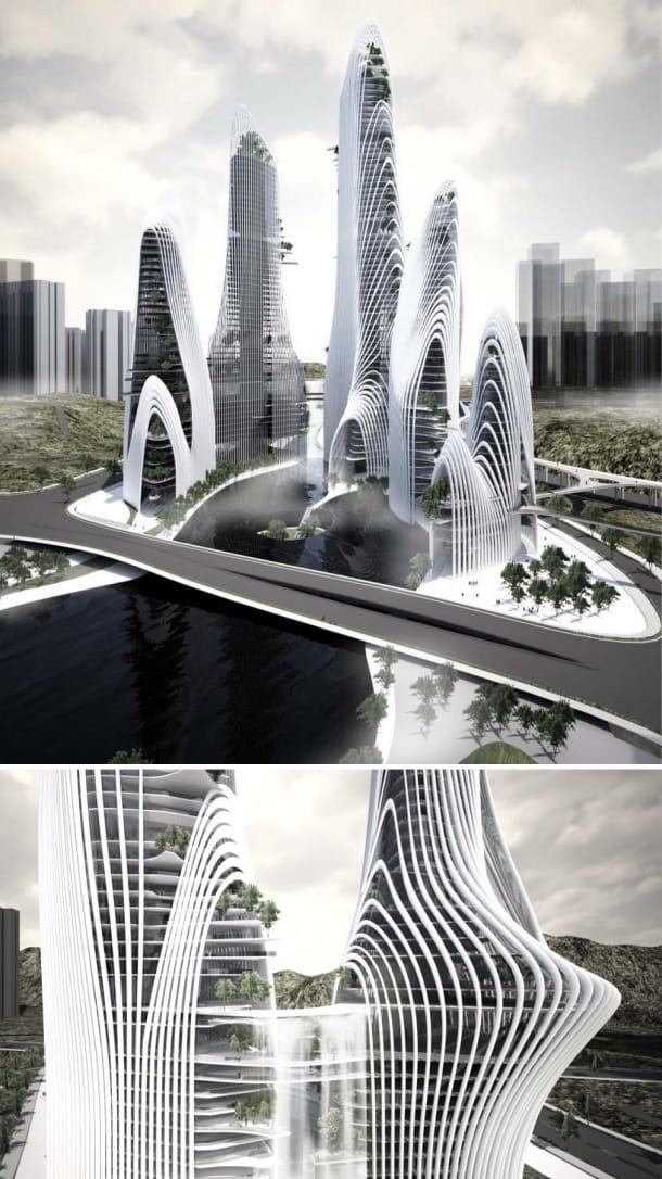 Ciudad Shanshui de MAD Architects