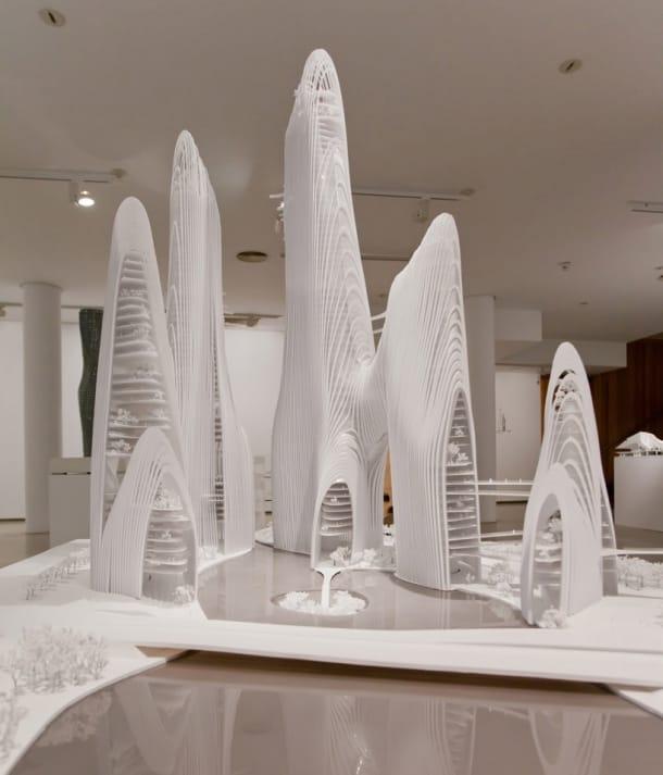 Shan-shui City MAD arquitectos