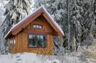 casa de madera Gifford Tumbleweed