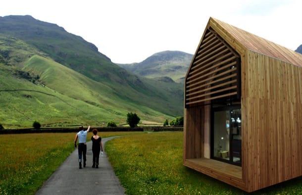 Pequeña casa ecológica
