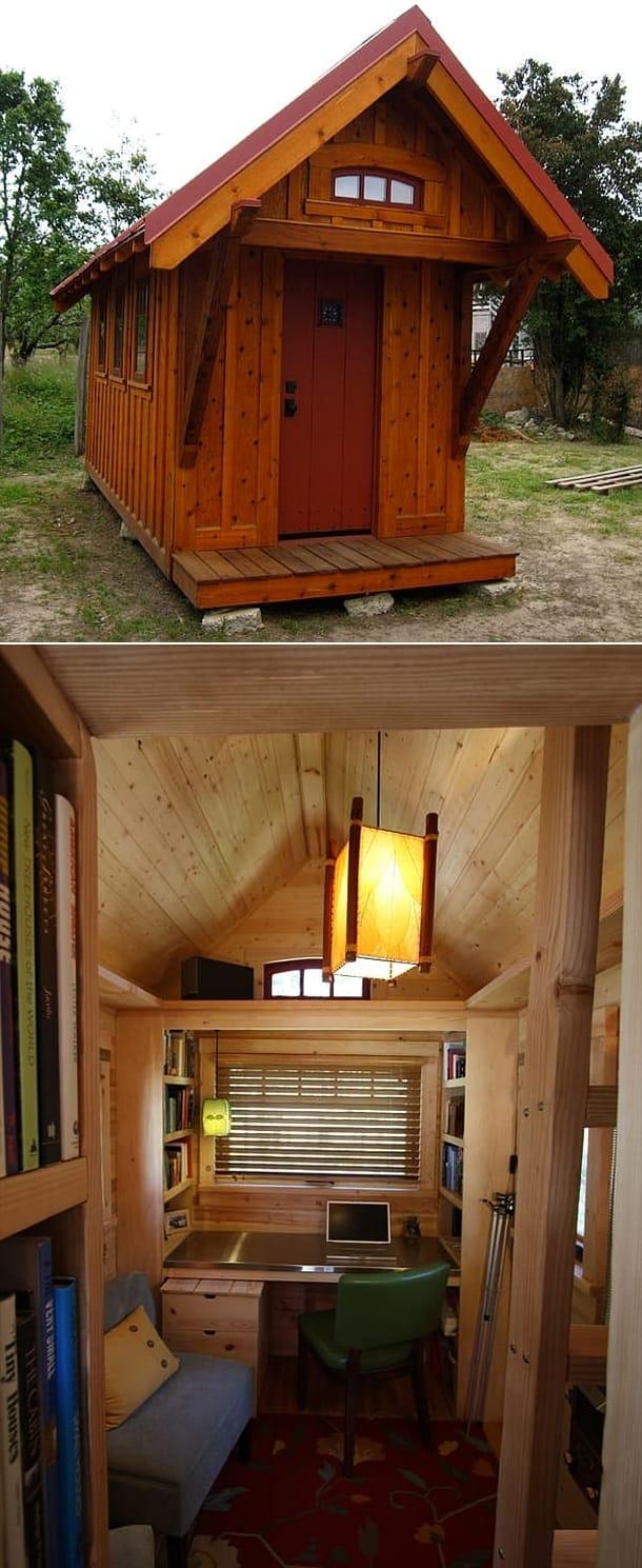 casa madera Gifford Box Bungalow