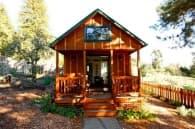 casa para huespedes de madera