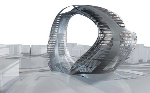 Un concepto diferente de edificio en altura