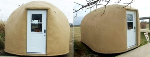exterior casa Monolithic Cabin