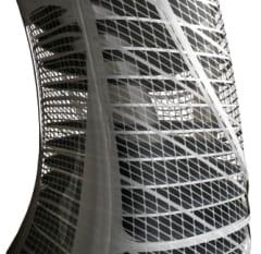 forjados y piel exterior de Euroscraper