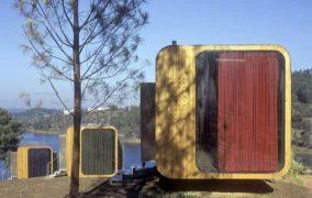 Refugios prefabricados para el turismo rural