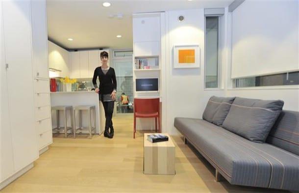 interior Casa L41 de 25m2