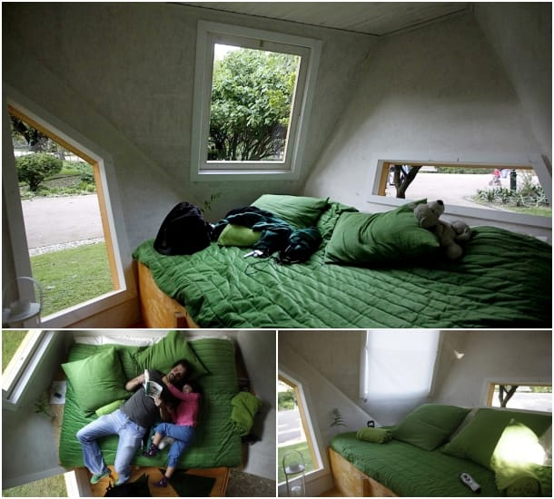 interior refugio Tree House Hotel1