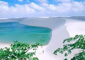 lagunas lencois maranhenses brasil