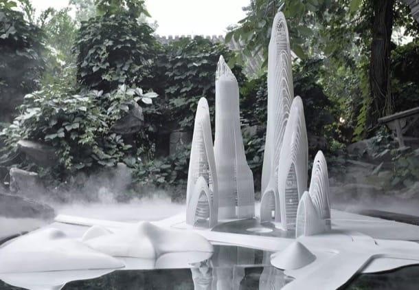Ciudad Shanshui, de Ma Yansong (MAD Architects)