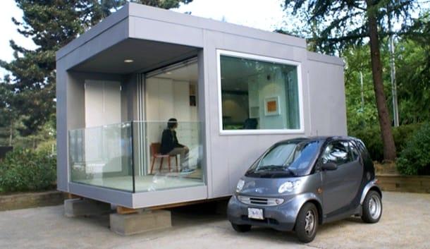Pequeña casa prefabricada
