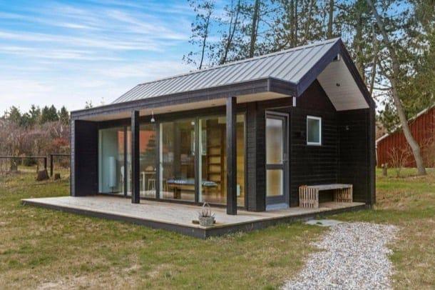 Pequeña casa danesa