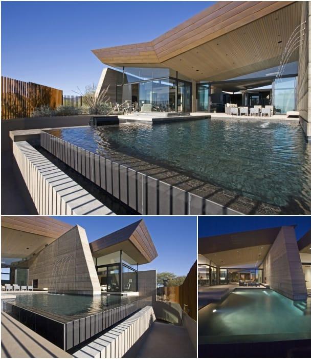 piscina Desert Wing House