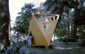 Refugio experimental de madera
