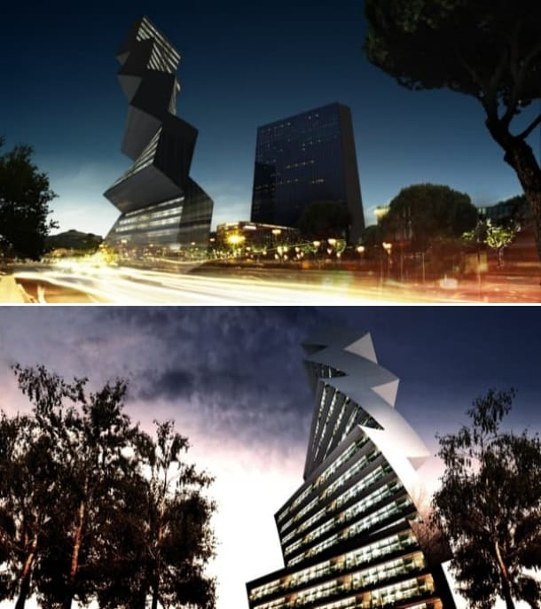 render Twilt Tower torre solar