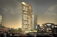 torre residencial HAUT Amsterdam