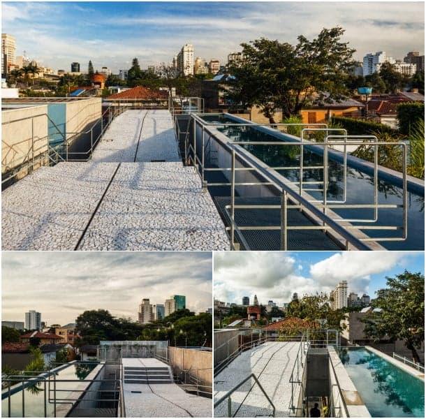vivienda con piscina en azotea SPBR