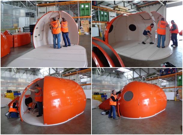 Igloo Satellite Cabin alargado