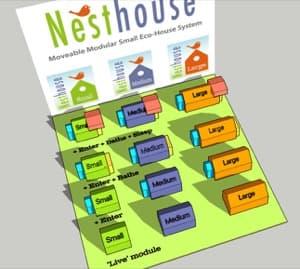 NestHouse casitas modulares de madera