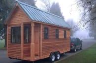 Siskiyou vivienda madera sobre ruedas