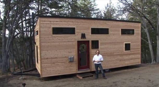 Mini hogar construido por una pareja