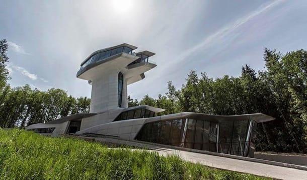 Casa de lujo diseñada por Zaha Hadid