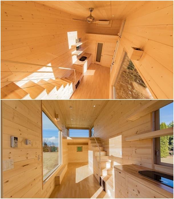 interior ONE casita en remolque Escape