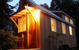 Mini casa con un magnífico altillo