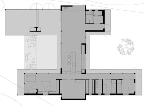 plano planta vivienda H-House