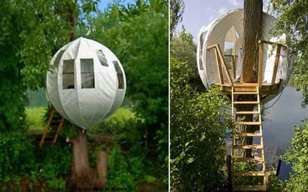 Refugio burbuja para disfrutar de la naturaleza